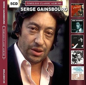 Serge Gainsbourg Timeless Classic Albums [5 Disc Set]