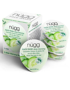 Nugg Beauty Deep Cleansing Face Mask 10ml [5 Pack]