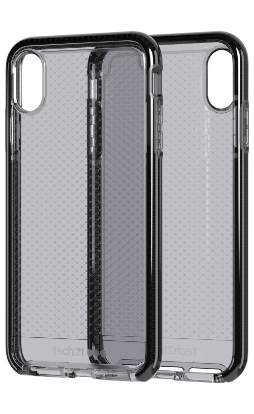 the best attitude 15d64 edb52 Tech21 Evo Check Case Smokey/Black for iPhone XS Max