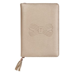 Ted Baker A5 Tassel Folio Rose Gold