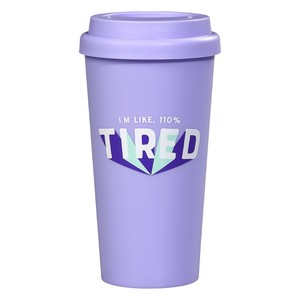 Yes Studio Travel Mug 110 Percent Tired Tumbler