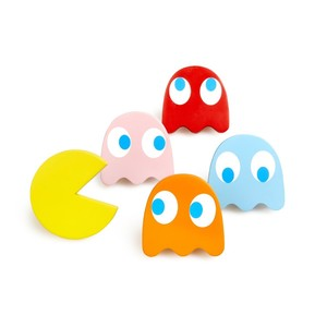 Balvi Pac-Man Wall Hangers [Set of 5]