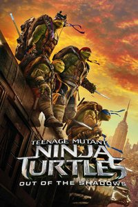 Teenage Mutant Ninja Turtles: Out of the Shadows [3D Blu-Ray]