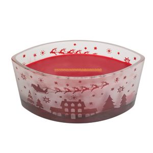 Woodwick Scenic Ellipse Candle Pomegrante