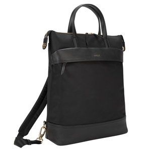 Targus Newport Convertible 2-in-1 Tote Backpack Black Fits Laptop up to 15""