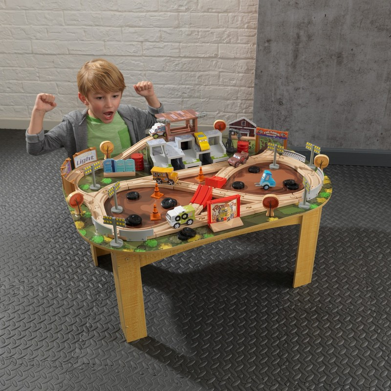 Kidkraft Cars 3 Crazy Eight Train Set U0026 Table