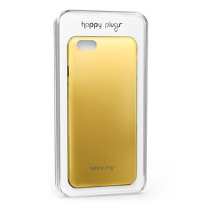 Happy Plugs Deluxe Slim Case Gold iPhone 6/6S