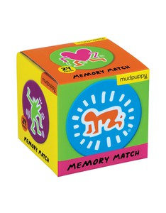 Mudpuppy Keith Haring Mini Memory Match Game