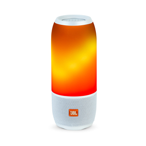 JBL PULSE 3 WHITE WATERPROOF PORTABLE SPEAKER