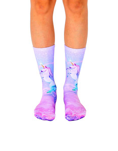 Living Royal Unicorn Dreams Unisex Crew Socks