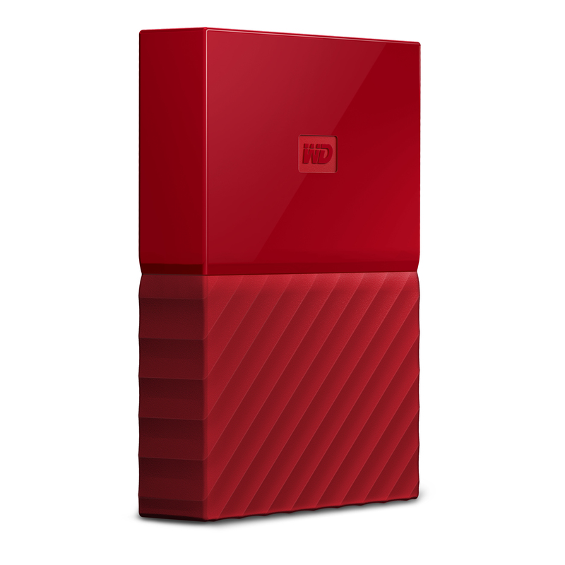 Western Digital 4TB My Passport Red