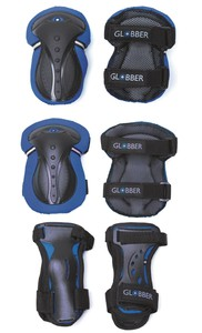 Globber Junior Navy Blue Protective Set XXS