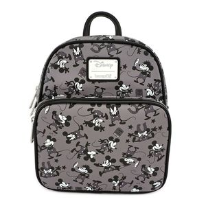 Loungefly Disney Mickey Mouse Plane Crazy Mini Backpack