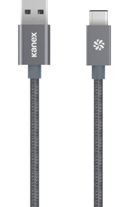 Kanex USB-C to USB-A Space Grey Cable 1.2M