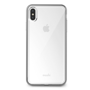 Moshi Vitros Case Jet Silver for iPhone XS Max