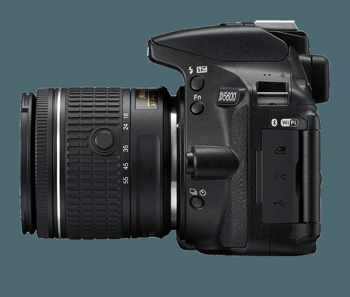 Nikon D5600 DSLR Camera + 18-55mm Lens | DSLR Cameras