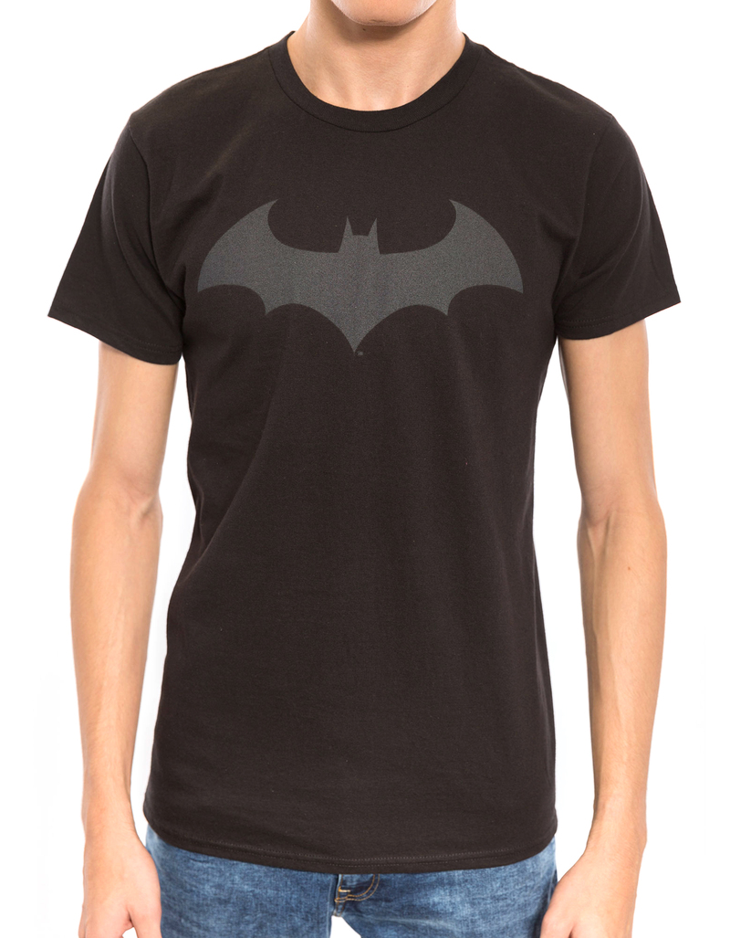 Batman Hush Logo Black 30/1 Men'S Tshirt Xl
