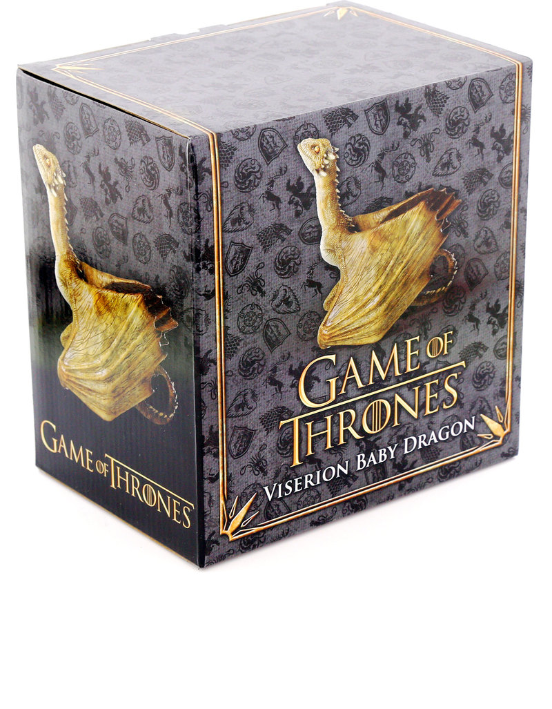 Noble Collection Game of Thrones Figurine Viserion Bébé Dragon