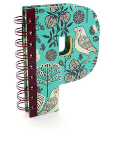Alpha Note Books Mini Letter P