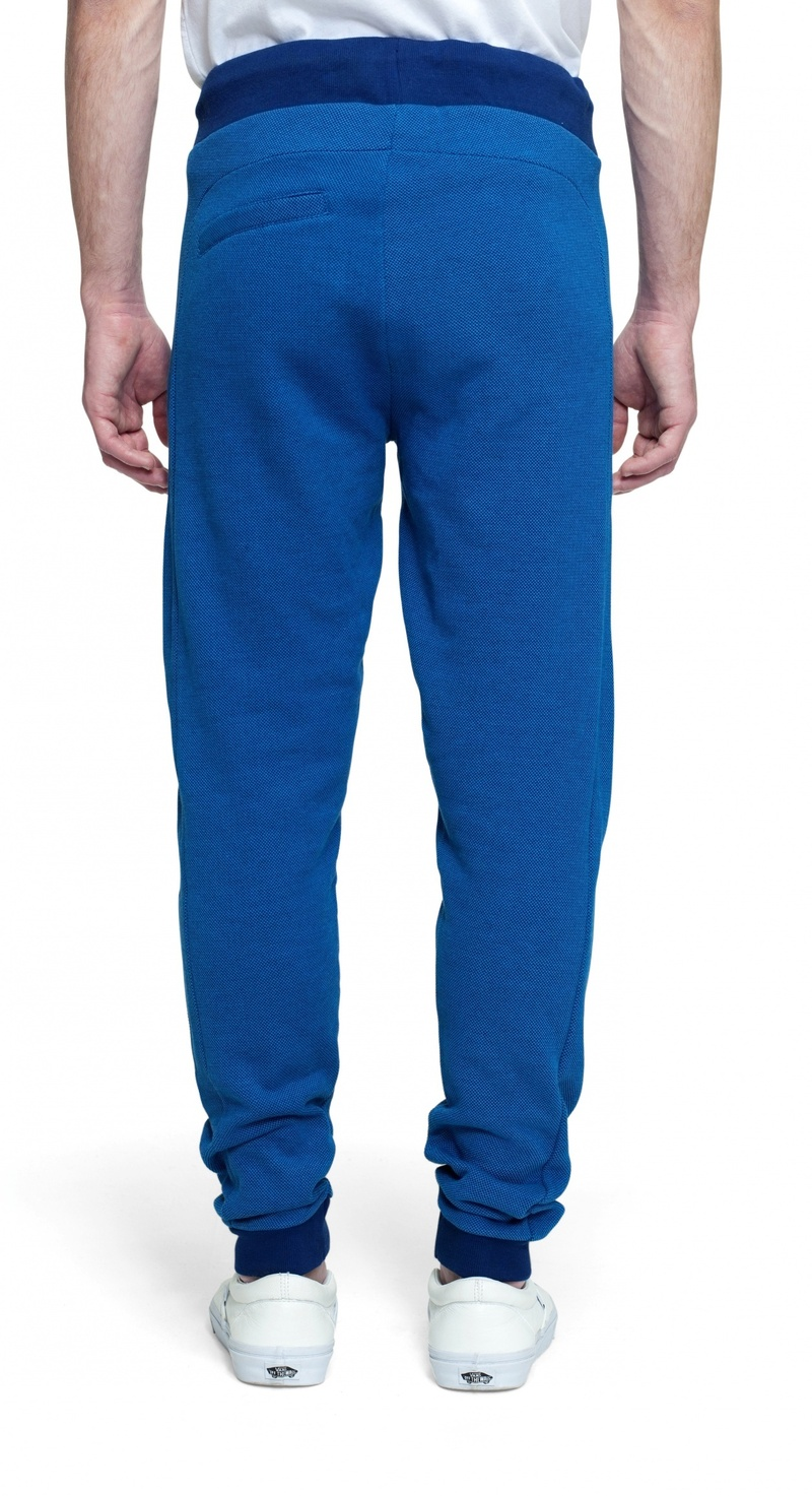 Slow Unisex Pants Depth Blue Mel L
