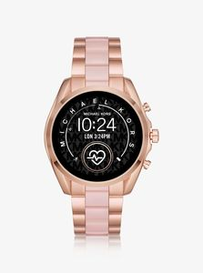 Michael Kors MKT5090 Rose Gold/Pink Smart Watch 44mm [Gen 5]