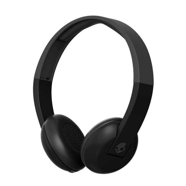 skullcandy uproar bluetooth black grey grey headphones on ear headphones headphones. Black Bedroom Furniture Sets. Home Design Ideas