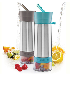 Zing Anything Aqua Zinger Grey 19Oz Water Infuser