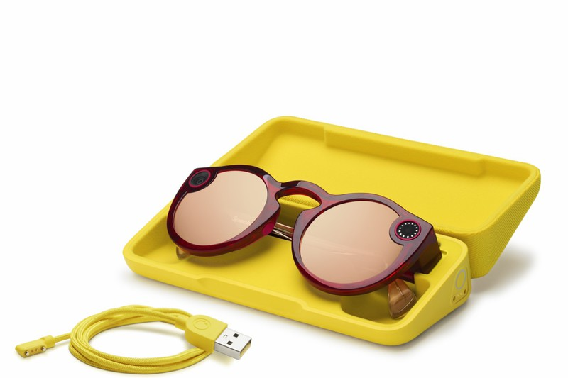 Snap Spectacles v2 Ruby Daybreak