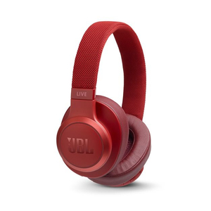 JBL Live 500BT Red On-Ear Headphones