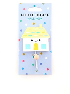 Petit Monkey Hook Little House Peach