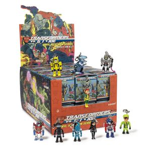 Kidrobot Transformers vs. G.I. Joe Keychain Series Blind Box [Includes 1]