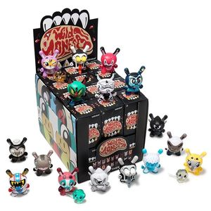 Kidrobot The Wild Ones Dunny Mini Art Figure Series Blind Box [Includes 1]
