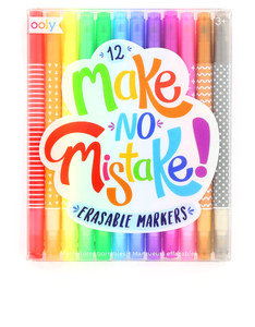 Ooly Make No Mistake Erasable Markers [Set of 12]
