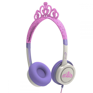 iFrogz Little Rockers Costume Pink Tiara Headphones