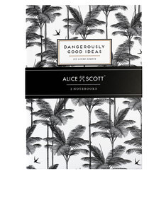 Alice Scott Dangerously Good Ideas A5 Notebooks [Set of 2]