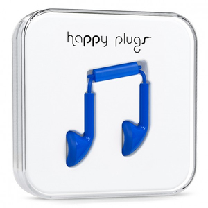 Happy Plugs Cobalt Earphones