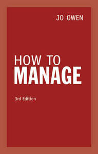 How To Manage 3Rd Ed