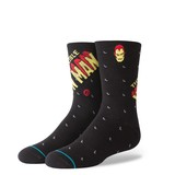 Stance Marvel Invincible Iron Man Youth Boys Socks Black
