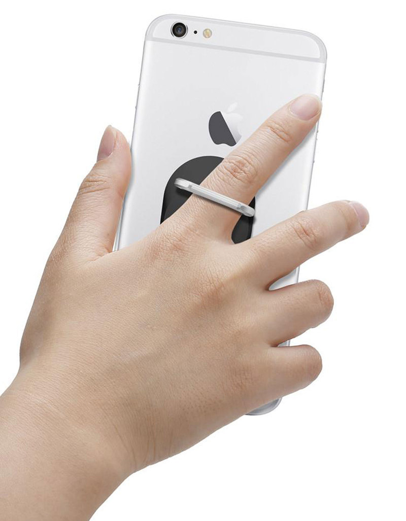 sale retailer b3e79 b63a1 Spigen Style Ring Grip Black For Smartphones