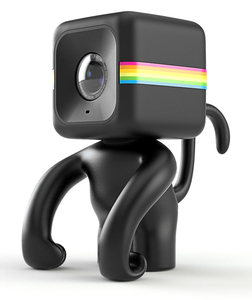 Polaroid Cube Camera Stand Mr Monkey Black