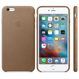 Apple Leather Case Brown iPhone 6S Plus