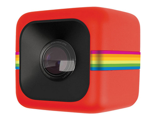 Polaroid CUBE+ Action Camera Red 8MP Full HD Wi-Fi