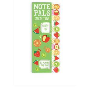 International Arrivals Note Pals Sticky Tabs Fruity Fun
