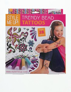 Style Me Up Trendy Bead Tatoos Impact Box