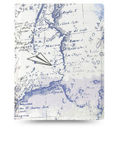 Filofax Patterns Retro Map A5 Notebook