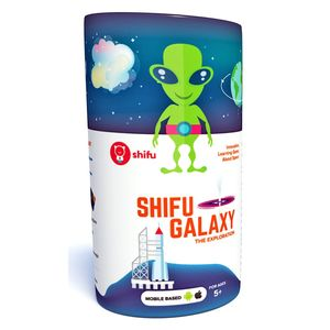 Shifu Galaxy Educational Interactive AR Card Game for Kids