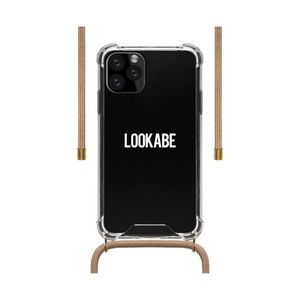 Lookabe Necklace Clear Case + Nude Cord for iPhone 11 Pro Max