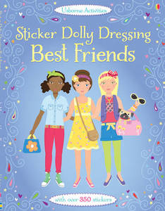 Sticker Dolly Dressing Best Friends