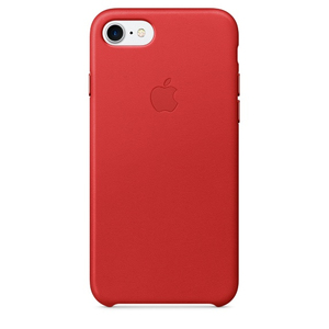 Apple Leather Case Red iPhone 7