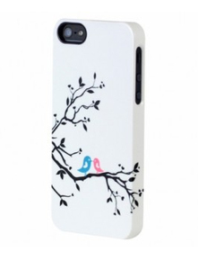 Uncommon Forever Birds Clear Frost Deflector Case iPhone SE